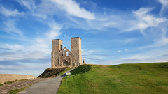 Reculver Towers (Aliy) Tags: reculver reculvertowers tower towers ruin ruinedchurch ruined ruinedtower ruinedtowers coast kent hernebay explored