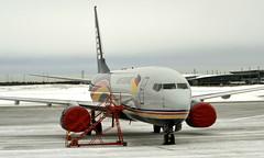 West Atlantic UK G-NPTA, OSL ENGM Gardermoen (Inger Bjørndal Foss) Tags: gnpta westatlantic boeing 737 osl engm gardermoen