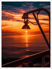 sunset in the Aegean Sea (dave-hall) Tags: aegean thomsonspirit