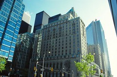Front Street, Toronto (demeeschter) Tags: canada ontario toronto city town building street architecture cn tower islands lake