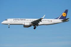 Lufthansa Regional ERJ-190LR D-AECA (wapo84) Tags: bru ebbr daeca erj195 lufthansa lufthansacityline lufthansaregional