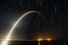 NusantaraSatu Falcon9 Launch by SpaceX (Michael Seeley) Tags: canon elonmusk longexposure mikeseeley nusantarasatu wereportspace falcon9 rocket spacex