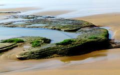 Beachrocks II (__ PeterCH51 __) Tags: beach rocks nature wilderness wildernessbeach gardenroute westerncape southafrica za sand sandy sandybeach seashore lowtide peterch51 beachrocks naturalshapes