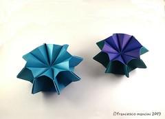 Galaxy star (mancinerie) Tags: origami modularorigami paperfolding papiroflexia papierfalten francescomancini mancinerie star