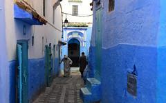 Chefchaouen, Morocco, January 2019 D810 747 (tango-) Tags: chefchaouen bluecity villaggioblu bluevillage morocco maroc 摩洛哥 marruecos марокко المغرب
