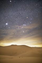 Orion Setting over Cadiz Dunes (Ken Brandon) Tags: orion cadiz dunes