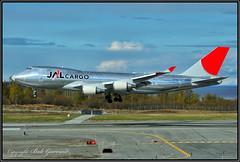 JA401J  Japan Airlines  JAL Cargo (Bob Garrard) Tags: ja401j japan airlines jal cargo boeing 747 anc panc