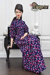 Elegant Elsa Lin (elenpriv) Tags: incognito elsa lin 16 inch fashion doll royalty fashionroyalty fr16 jasonwu integritytoys elenpriv elena peredreeeva newspring collection