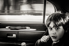Cab Ride (broadswordcallingdannyboy) Tags: mono bw city manhattan nyc ny newyork eos7d leonreillyphotography leonreilly copyright donotcopy mood atmosphere newyorkcity usa eastcoast americafuckyeah america bwcity light newyorkminute newyorkstateofmind newyorkmono nycinbw