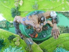 gus5 (Giantnerdguy) Tags: giant fantasy miniature mini scarab axe rust gem rocks frog rabbit mushroom moss paint skin loincloth belts skulls chainmail pink brown red white grey green orange nemesismini