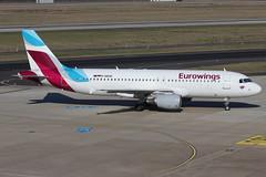 A320 D-ABZE 160219 (Nik Deblauwe) Tags: dus eddl düsseldorfairport february 2019