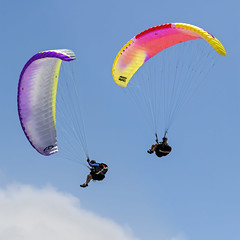 Paragliders 2019-01-13 (7D_182A4172&190) (ajhaysom) Tags: hanggliders whitesbeach torquay surfcoast australia canoneos7dmkii canon70200l