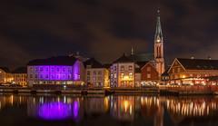 Arendal by night (gormjarl) Tags: