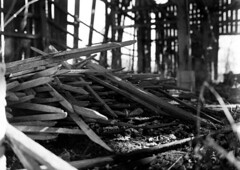 tobbaco sticks (Nickademus42 (Thank you for 1 million views)) Tags: berger 120 400 film medium format mama 645 1000s 45mm 28 black white