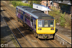 Northern - 142058 (Tf91) Tags: northern northernrail railway ukrail ashley manchesterpiccadilly chester pacer class142 142058 diesel dmu