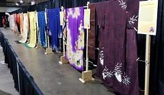 The Kimono Display (MissMyloko) Tags: kimono display anime north rainbow houmongi hikizuri furisode uchikake obi haori