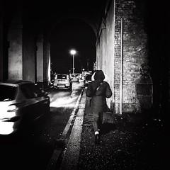 """Night Photography"" (giannipaoloziliani) Tags: cars shape flickr italy italia iphone iphonephotography focalpoint extreme sidewalk genova genoa lights liguria nero street lightandshadow blackandwhite noir streetlife streetphotography night"