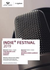 INDIE+ FESTIVAL (EHUkultura) Tags: ehu upvehu ehukultura bizkaiaaretoa rock pop música musika bilbao univerisdad unibertsitatea