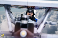 The Greatest Adversary (Dread Pirate Wesley) Tags: lego airplane biplane plane aircraft german fighter scout great war wwi
