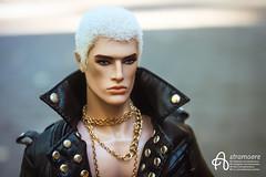 Robert (astramaore) Tags: style strategy lukas maverick fashionroyalty fashion integritytoys doll dollphotography handsome blond blueeyes leather jacket