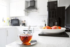 Tea in the Kitchen (haberlea) Tags: home athome tea drink cup kitchen