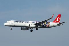 Turkish Airlines   A321-231   TC-JSU (Globespotter) Tags: frankfurt main turkish airlines a321231 tcjsu legomovies2 livery