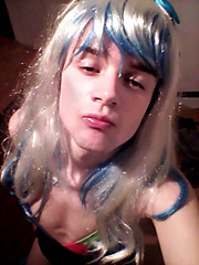 swimsuit 9 kiss ^^ (Night Girl (my feminine side) :)) Tags: crossdress cd crossdressing cross dress dresser girly boy femboy feminine me girl fun