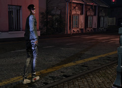 Well he comes and he goes, so capricious (MATTY // *OMG*) Tags: sl secondlife men mens blog blogger style male fashion lotd clothing clothes cool street wear outfit event denim hair sneakers betrayal locktuft chucks mgmens jeans baggy jacket kicks high tops dope photo photography