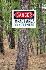 Danger Impact Area Do Not Enter Warning Sign Post (kanewpadle) Tags: area army base danger dangerous do ensure enter entry firing impact installation limit military pine post prevent prohibition range restricted restriction safety shooting sign training tree trespassing unauthorized warning zone