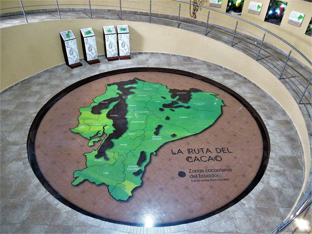Mitad Del Mundo Map