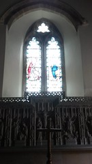 Altar (East End Girl 1968) Tags: westonsupermare church christian religion altar thereredos st pauls cross stainedglass window