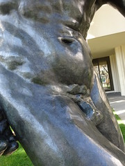 DSC03122 (Akieboy) Tags: sculpture statue carving man male nude naked bronze rodin theshade shade lacma museum art