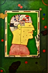 Man playing snooker and thinking of other things (1961) - Derek Boshier (1937) (pedrosimoes7) Tags: derekboshier belem berardocollection centroculturaldebelem lisbon portugal museum musée museu popart artgalleryandmuseums masterpiecemansion