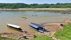 Rio Tambopata Anlegestelle (Sanseira) Tags: südamerika peru rio tambopata lehmlecke anlegestelle
