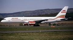 G-OOOH. Air 2000 Boeing 757-23A (Ayronautica) Tags: ayronautica aviation scanned glasgow gla egpf airliner b752 air2000 boeing75723a goooh