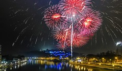 Fire 2019 - 6338 (ΨᗩSᗰIᘉᗴ HᗴᘉS +37 000 000 thx) Tags: fire firework fireworks 2019 sony night belgium europa aaa namuroise look photo friends be wow yasminehens interest eu fr greatphotographers lanamuroise flickering
