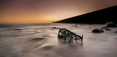 2019 (ianbrodie1) Tags: lobster pot tynemouth pier lighthouse sea seascape ocean water coast coastline sunrise leefilters rocks longexposure northeast