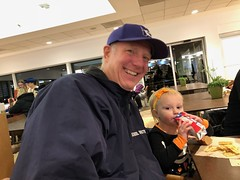 """Dani Has Dinner with Grandpa Miller • <a style=""""font-size:0.8em;"""" href=""""http://www.flickr.com/photos/109120354@N07/45709233144/"""" target=""""_blank"""">View on Flickr</a>"""