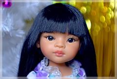 """Лиу, by-Paola-Reina, doll, 15"""", 32cm, body-2018, girl (Evrika U) Tags: лиу bypaolareina doll 15"""" 32cm body2018 girl photobyevrikagrecheskaja newdoll happynewyear blue"""