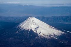 Mt. Fuji (Jennifer 真泥佛) Tags: 富士山 mtfuji 東京 松山 羽田松山 中華航空 tokyo japan haneda matusyama taipei taiwan