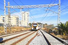 Rodalies per Montgat (Escursso) Tags: renfe tren train barcelona rodalies alstom civia 465 montgat