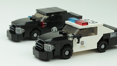 Chargers (Brick Police) Tags: lego dodge charger