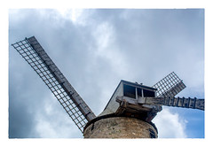 The Top of the Windmill (Timothy Valentine) Tags: 2018 0418 sail vacation hrsw fbpost bird sky windmill morganlewissugarmill saintandrew barbados bb