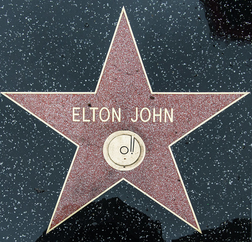 Elton John fan photo