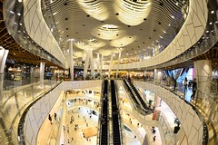 Shanghai - IAPM (cnmark) Tags: shanghai china huaihai central road iapm shopping mall interior architecture architektur light space lobby escalators 中国 上海 淮海中路 iapm广场 上海环贸广场 ©allrightsreserved