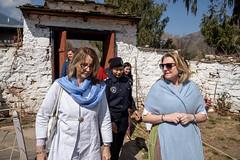 Karin Kneissl auf Südasienreise in Bhutan