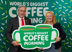 Supporting World's Biggest Coffee Morning