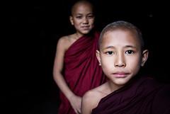 Myanmar (mokyphotography) Tags: myanmar burma birmania monaci monks monastero monastery reportage religion religione people portrait persone person photographer ritratto ritratti travel canon canoneos eyes occhi viso face