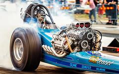 Stripteaser (Subdive) Tags: canoneos80d dragrace dragracing dragstrip kjula kjuladragway motorsport race racing swedensverige vintagedragracing dragster frontmotordragster burnout