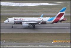 AIRBUS A320 214 Eurowings D-AEWS 7439 Zurich janvier 2019 (paulschaller67) Tags: airbus a320 214 eurowings daews 7439 zurich janvier 2019
